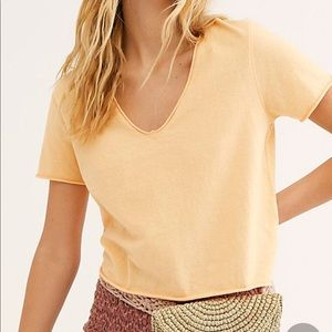 NWT FREE PEOPLE women's tee